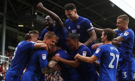 Football League: Ward keeps Cardiff unbeaten, Shrewsbury top League One