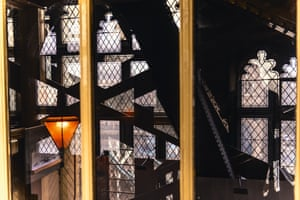Staircases in the south tower