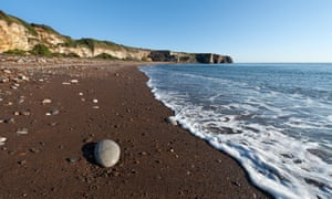 Blast Beach, near Seaham, on the Durham Heritage Coast in County Durham.