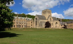 Ampleforth College and monastery in North Yorkshire.