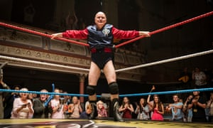 Hanging on ... Dave Johns in Walk Like a Panther