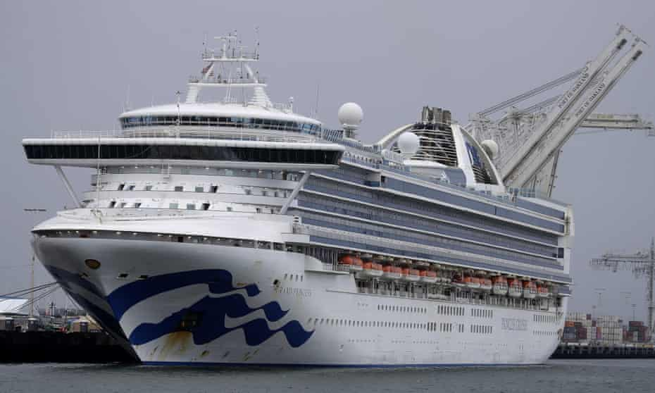Grand Princess cruise ship. 'This will be a disastrous time for the industry.'
