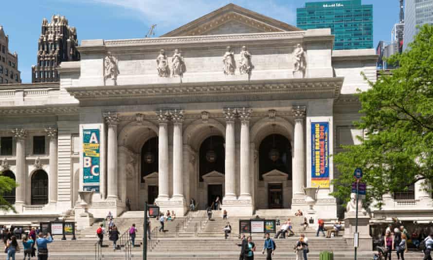 New York City Library Hall.