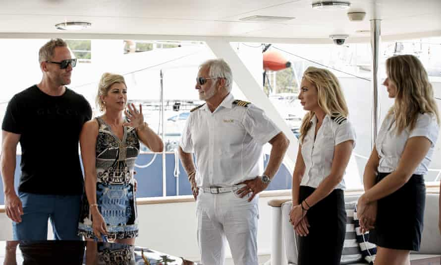 Below Deck in season seven, just before Covid hit and the ship staff's panic started rising