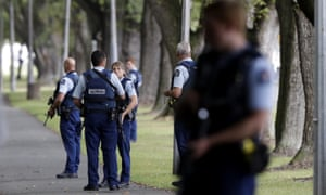 Police in Christchurch