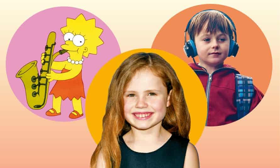 Cherub rock: Lisa Simpson, Big Little Lies' Chloe and The A Word's Joe.