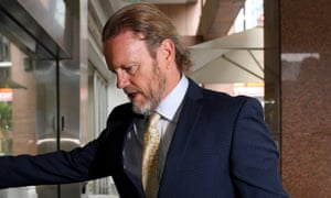Australian actor Craig McLachlan arrives at his barrister's office in in Sydney on Friday 6 November. He has been found not guilty of indecent assault.