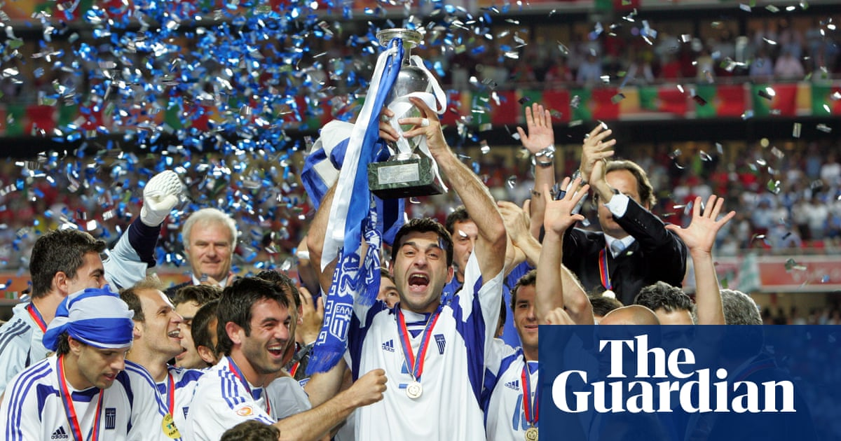 We wanted to finish the miracle': how Greece won Euro 2004 against ...
