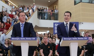 'If Cameron did the charm, Osborne certainly did the offensive.'