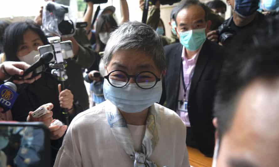 Margaret Ng, 73, a barrister and former legislator