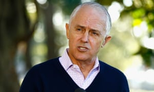 Malcolm Turnbull speaks during a press conference in Sydney on Sunday