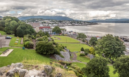 Trail-blazing … the Argyll town of Dunoon, home of the Burgh Hall.
