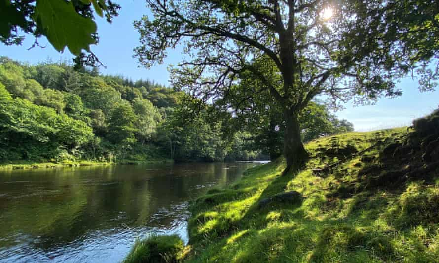 The River Teith.