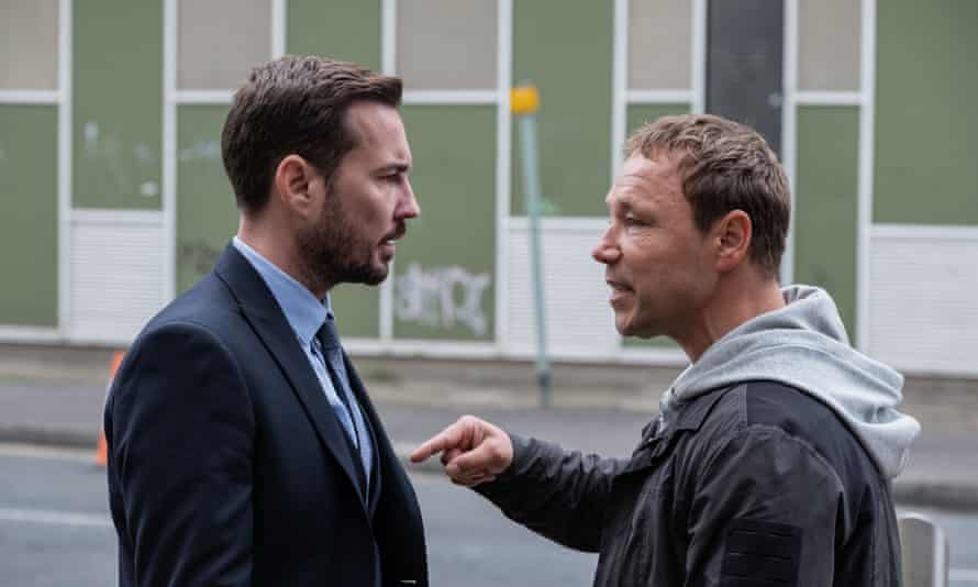 A fair cop ... with Stephen Graham in the fifth series of Line of Duty.