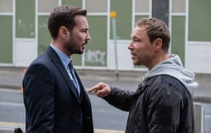 Star turn … Martin Compston and Stephen Graham in Line of Duty.