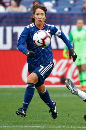 Emi Nakajima's deliveries from free-kicks and corners are a potent weapon for Japan