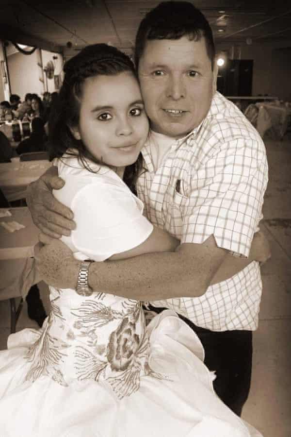 Angel Rosa and his daughter, Lorena.