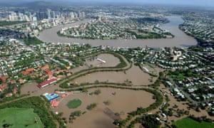 Brisbane flooding 2011