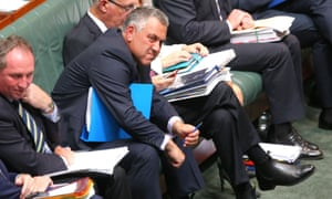 Treasurer. Joe Hockey during question time in the House of Representatives this afternoon, Monday 23rd February 2015.