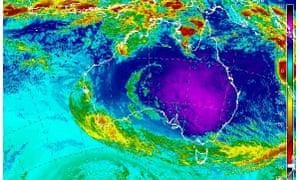 Temperatures across Australia on 10 February 2017