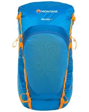 Backpack £100, montane.co.uk