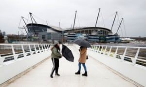 Extreme weather led to the cancellation of Manchester City's game against West Ham on Sunday.