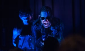 It's pretty incredible that Nine Inch Nails performing mid-episode is the least interesting thing to happen this week.