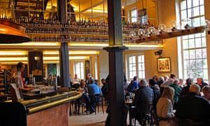 De Halve Maan Brewery interior