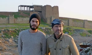 Frederic and I in Mosul, looking like locals.