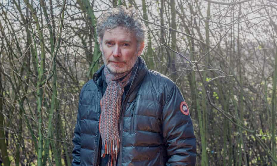 Kevin Macdonald photographed on Hampstead Heath in London.
