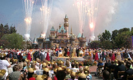 Disneyland's 50th Anniversary rededication ceremony held on 17 July 17 2005.