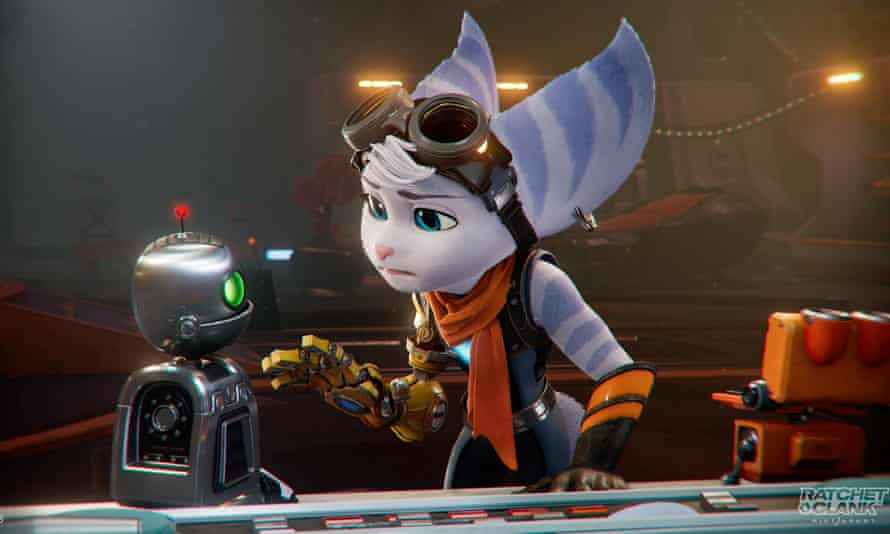 Ratchet & Clank: Rift Apart ... Rivet and Clank get to know each other.