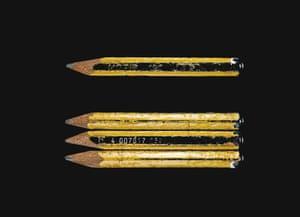 David Shrigley's pencil