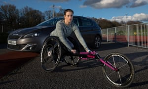 Wheelchair athlete Carly Tait is set to lose her Motability car, as a result of being reassessed for new personal independence payments, like an estimated 90,000 other disabled people by 2018.