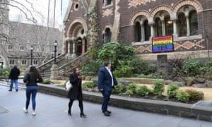 A marriage equality sign  in Melbourne