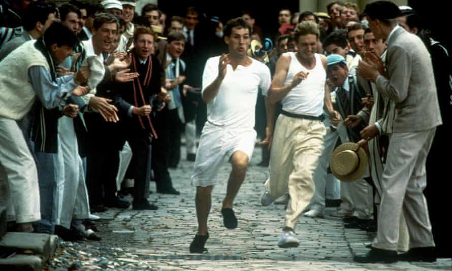 Chariots of Fire wrestles with the 'relentless pursuit of excellence'.