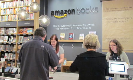 The Amazon book store in Seattle