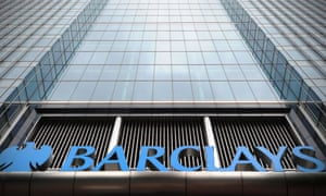 Barclays bank headquarters in Canary Wharf, London