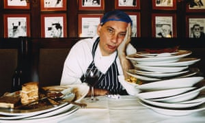 Nick Cohen in the Gay Hussar restaurant.