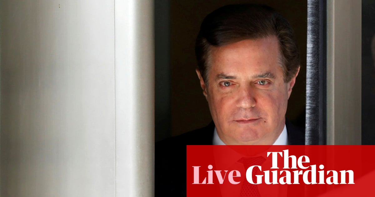 Trump dealt double blow as Manafort convicted on eight counts and Cohen pleads guilty – live
