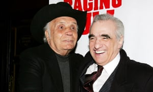 Jake LaMotta and Martin Scorsese
