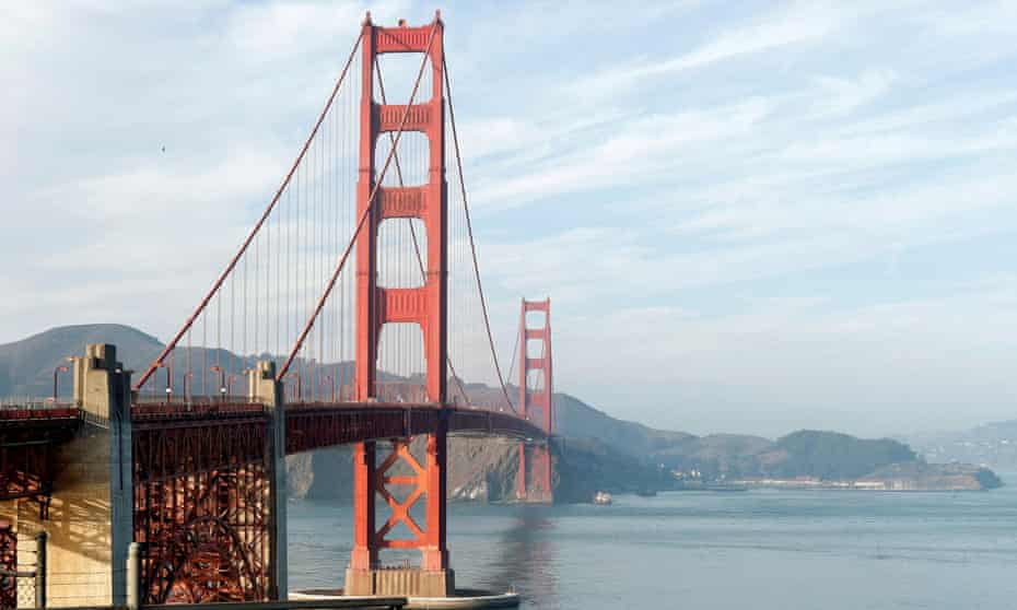 The Quest To Solve The Mysterious Eerie Hum Of The Golden Gate Bridge San Francisco The Guardian