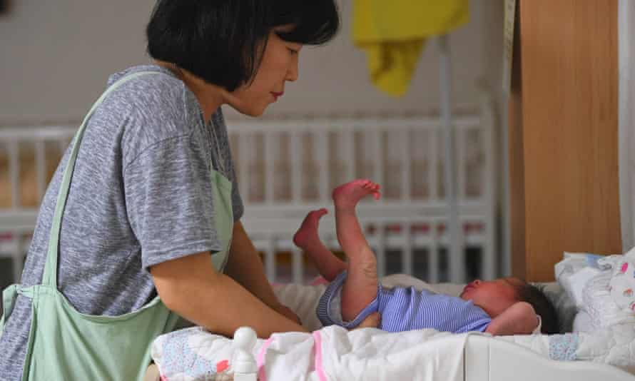A midwife in South Korea