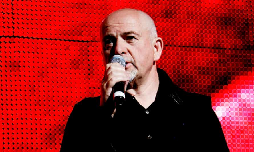 Peter Gabriel, who co-founded Womad in 1980.