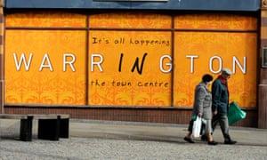 Warrington sign