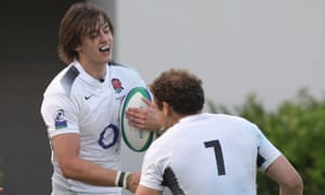 Alex Gray (left) has had a successful rugby career in Europ