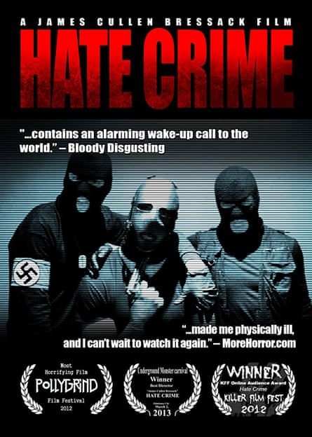 Refused classification … a poster for Hate Crime.