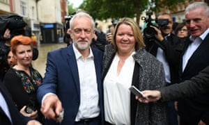 Tories live in fear of a split on the right sending Jeremy Corbyn, pictured with Peterborough's new MP Lisa Forbes, into Number 10