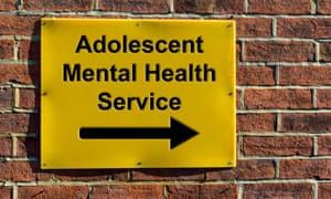 Mental health unit sign