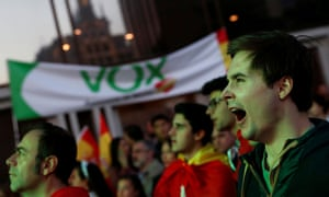 General election in SpainA supporter of Spain's far-right party VOX yawns as he waits for the announcement of the results in Spain's general election in Madrid.